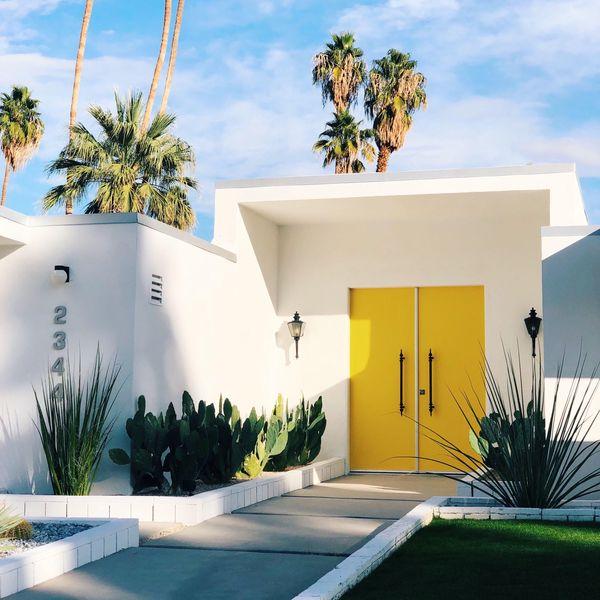 beautiful palm springs house