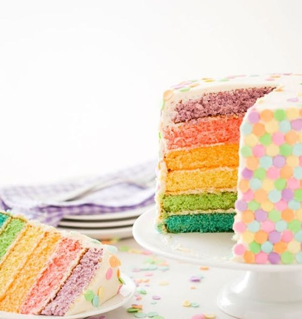 Some Bunny's Going to Love This Spring Pastel Confetti Cake Recipe