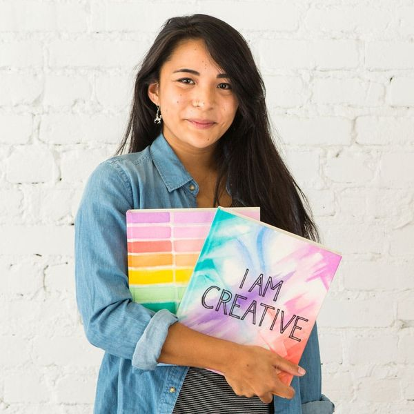 3 Ways to Make a New Notebook Pop With Watercolor