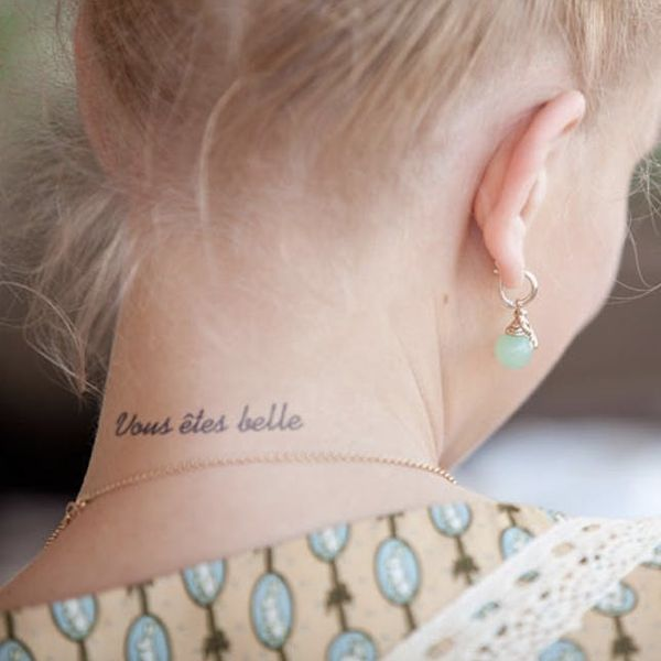 These Gorgeous Organic Temp Tattoos Last for 2 Weeks