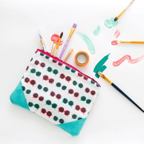 Sewing Basics: How to Make a Zipper Pouch like a Pro