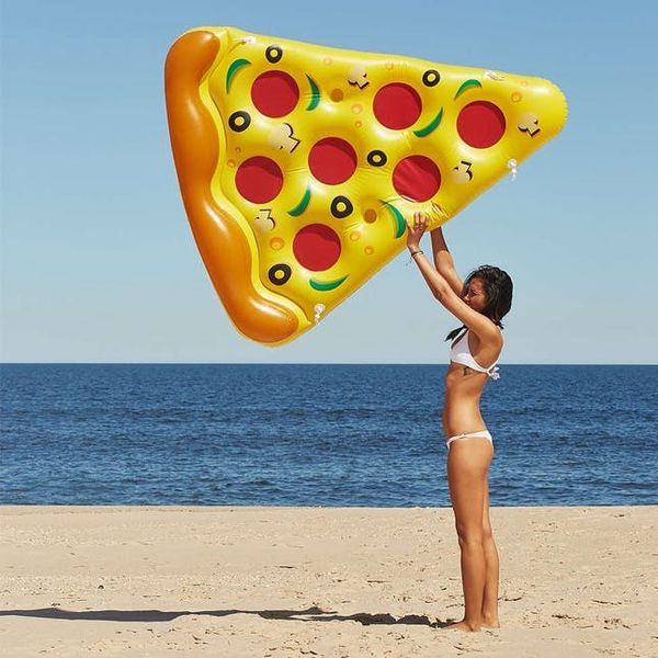 The BritList: Pizza Floats, Pizza Bikinis and More
