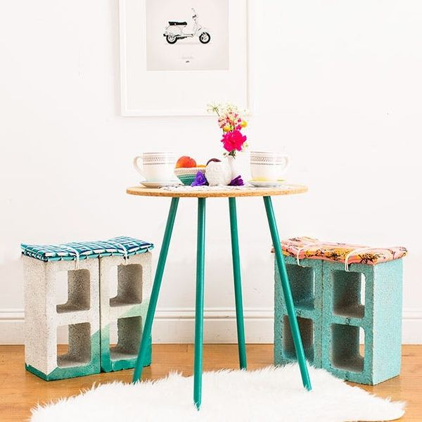 This Might Be the Easiest Stool DIY Ever