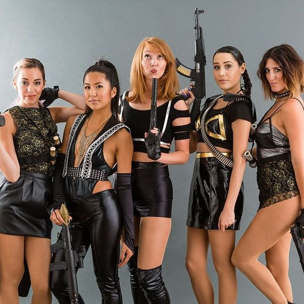 How to DIY Taylor Swift's Badass Bad Blood Group Costumes