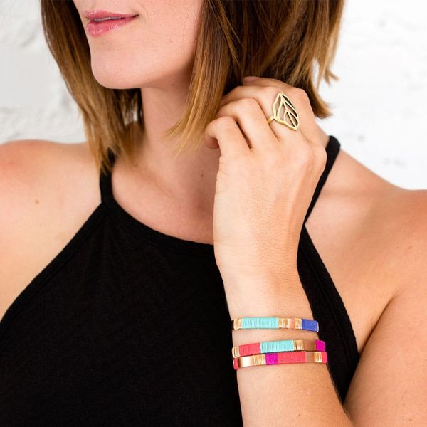 How to Make Simple Stacking Bracelets Pop