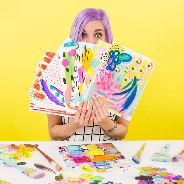 Summer School FTW: Take Our BRAND NEW Intro to Acrylic Painting Class!