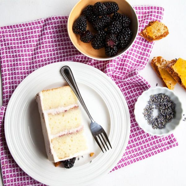 Blackberry Lavender Honeycomb Cake Is the Dessert Your Summer Needs