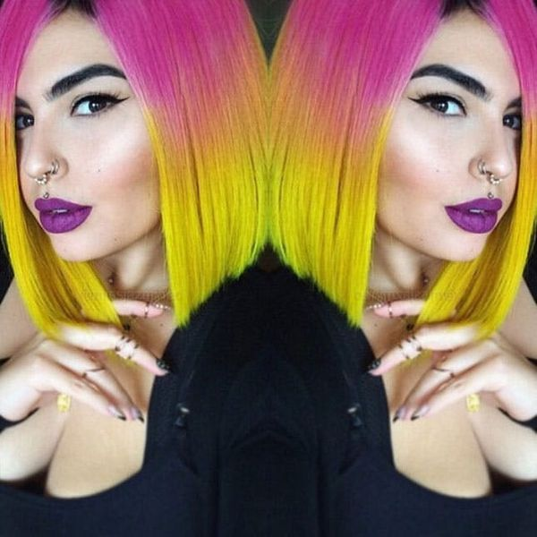 How to Get Rainbow Locks Without Dyeing Your Hair