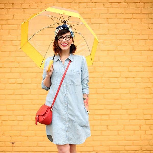 14 Ways to Style a Denim Dress