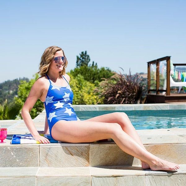 Update Last Year's Swimsuit With Stars for Your 4th of July Pool Party