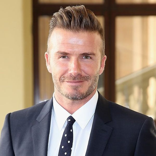 You'll Never Guess Who's Twinning With David Beckham