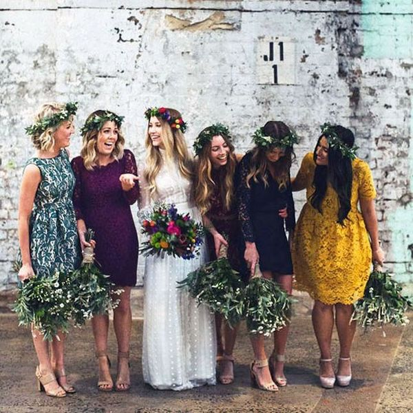 10 Unique Ways to Style Your Bridesmaids for Your Big Day