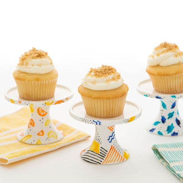 Take Brunch to the Next Level With DIY Mini Cupcake Stands