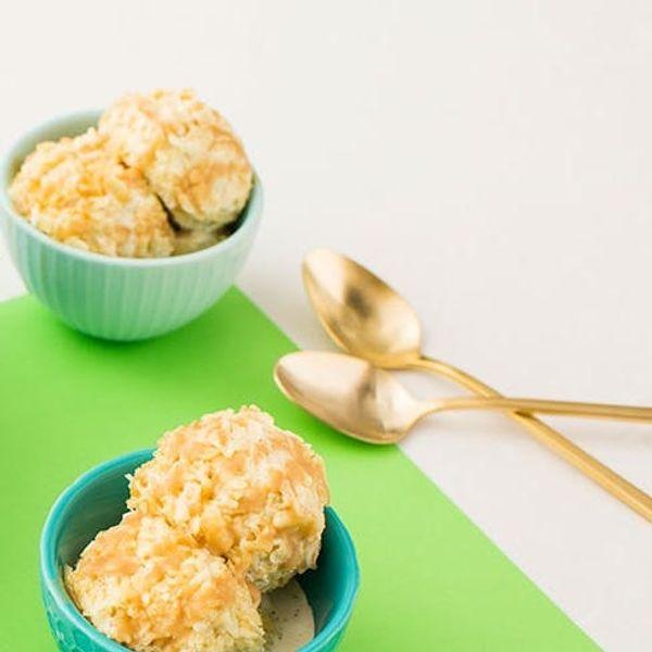 Crunchy Fried-Style Ice Cream FTW!