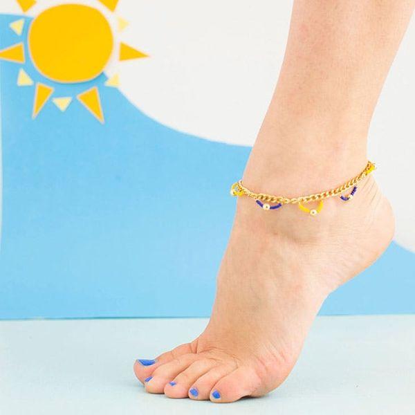 How to Make an Anklet for Summer Sandal Season