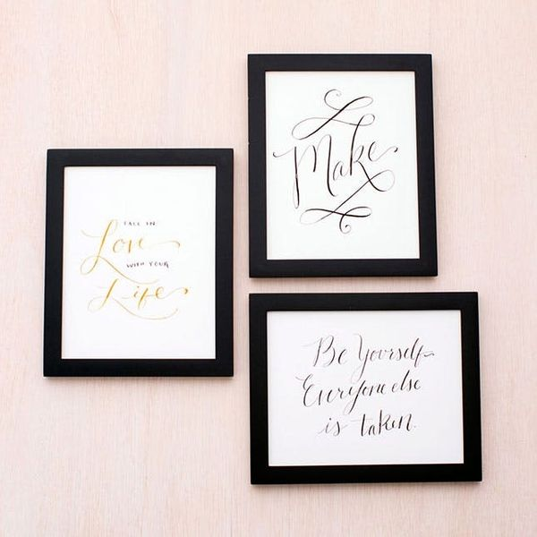 10 DIY Calligraphy Projects to Get Your Hobby Started