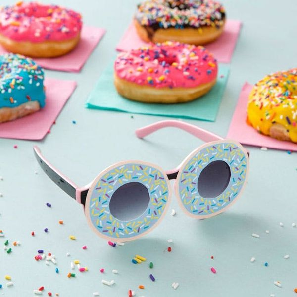 How to Make Donut Sunglasses in Under 5 Minutes (+ Free Printable!)