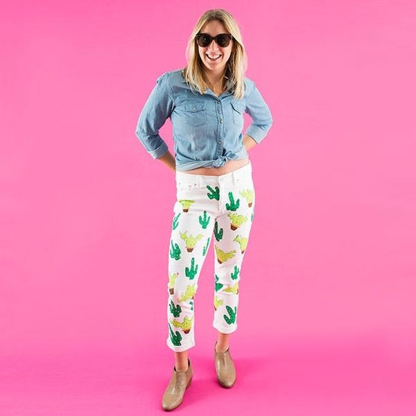 How to Hack Lena Dunham's Cute Cactus Pants from Instagram