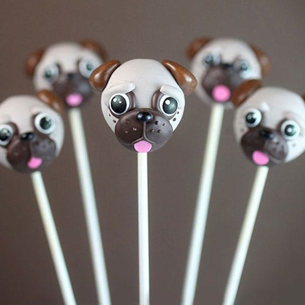 You Need to Make These Peanut Butter Pug Cake Pops ASAP