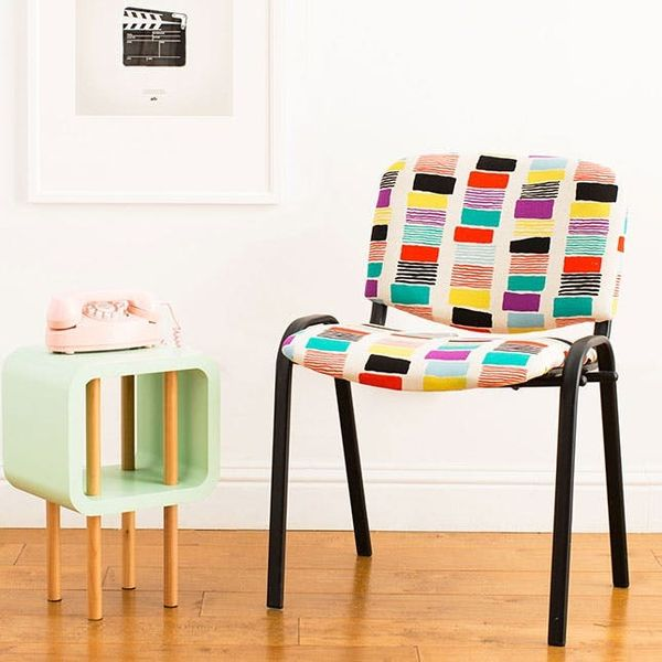 How to Reupholster a Thrift Store Chair in 4 Easy Steps