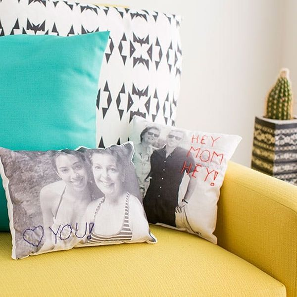 Mother's Day Win: Make Custom Photo Pillows of You and Your Mama