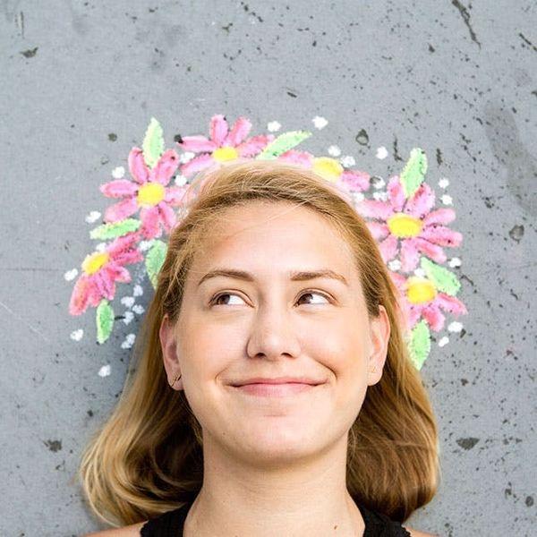 3 Sidewalk Chalk Ideas That Are Totally Selfie-Worthy