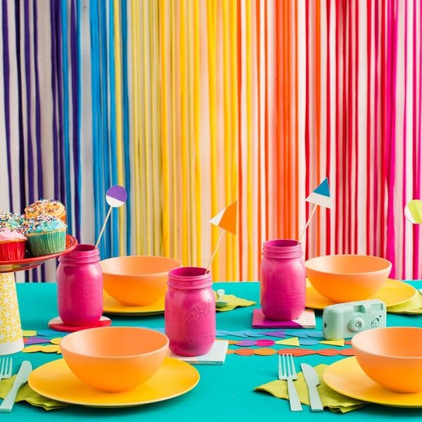 5 Must-Makes for the Ultimate Color Blocked Rainbow Party