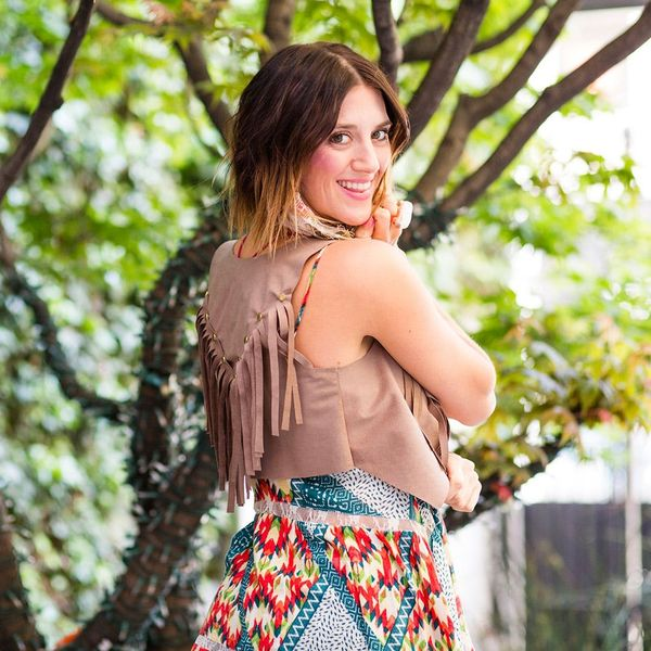 DIY the Vest All the Celebs Were Wearing at Coachella
