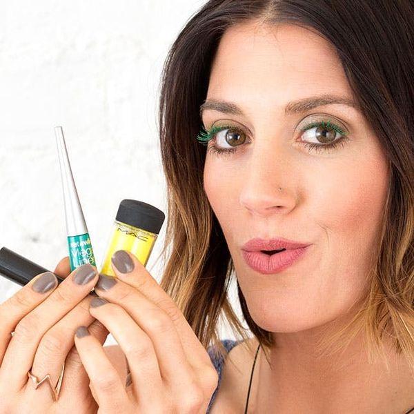 2 Ways to DIY Colored Mascara + 6 Ways To Rock It