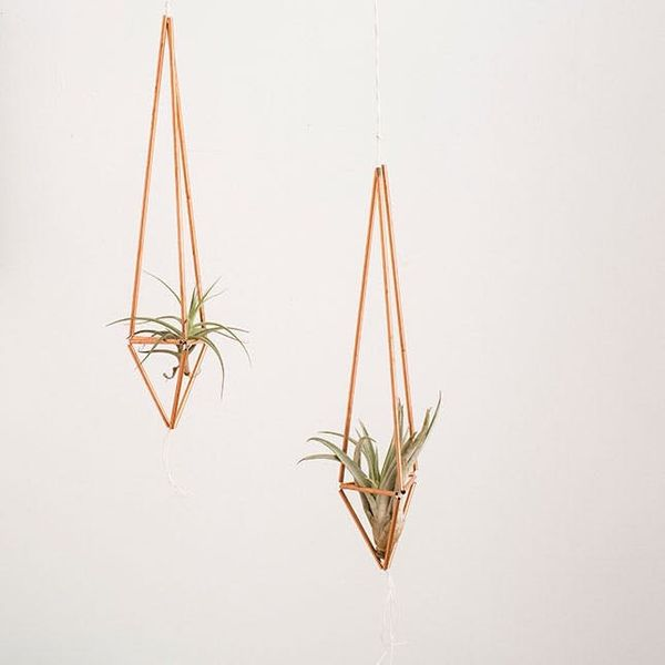 How to Make Gorg Copper Pipe Plant Hangers in 10 Minutes