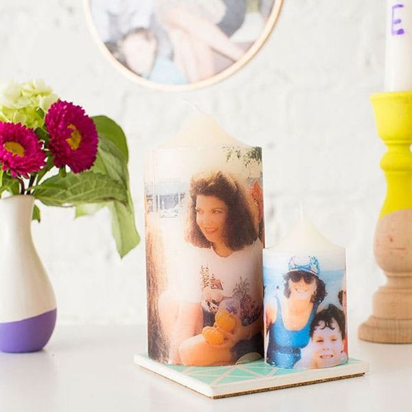 How to Turn Tissue Paper into Personalized Photo Presents for Mom