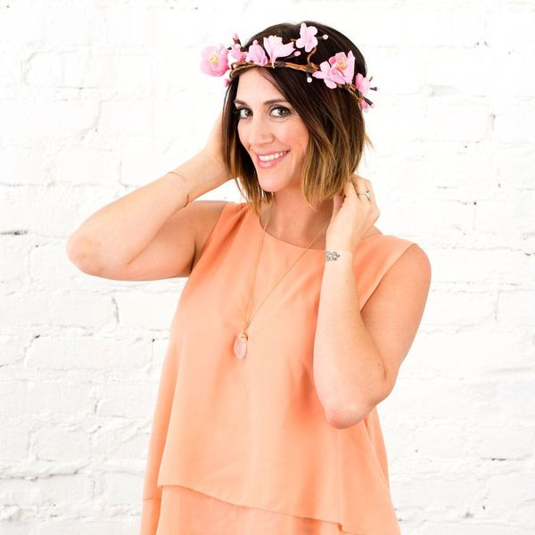 How to Make a Cherry Blossom Flower Crown