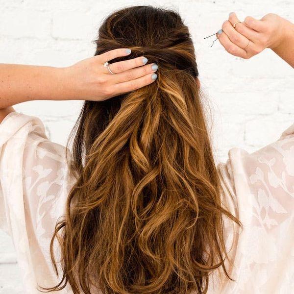 3 Half Up, Half Down Hairstyles You Can DIY All Wedding Season Long