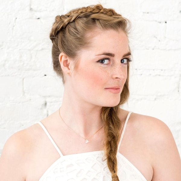 You Need to Try This Boho Crown Braid for Your Next Special Event