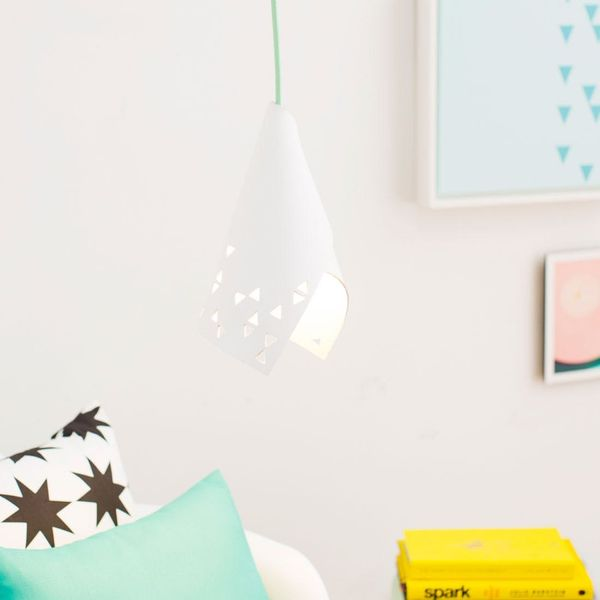 How to Make the Easiest DIY Pendant Lamp EVER