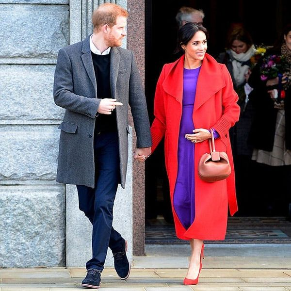 How to Avoid Wearing Maternity Clothes, According to Meghan Markle