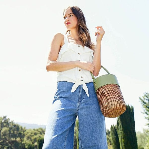 All the Sophisticated Straw and Canvas Bags You Need to Carry All Summer