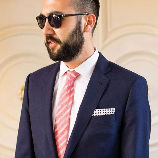 How to Make a Pocket Square + 3 Ways to Fold It