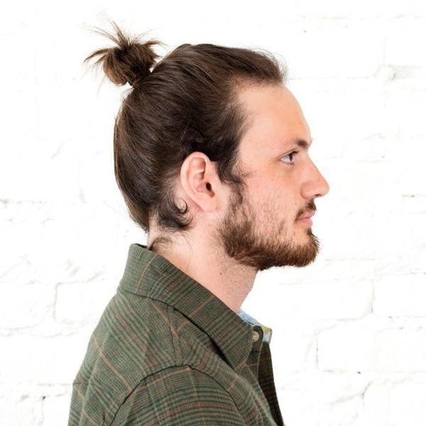 3 Ways to Style a Man Bun