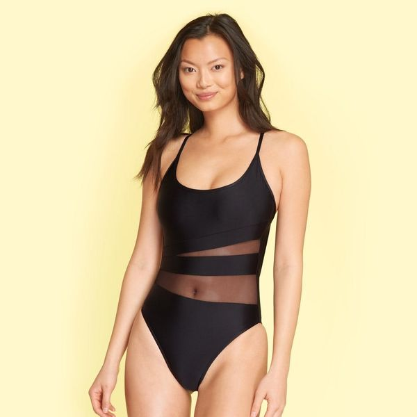 Not-So-Basic Little Black Bathing Suits You Need for Summer