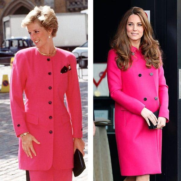 8 Times When Kate Middleton Dressed Like Princess Diana