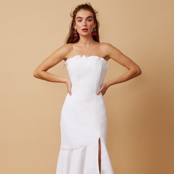 16 White Dresses That Prove Wedding Reception Outfits Are a Thing