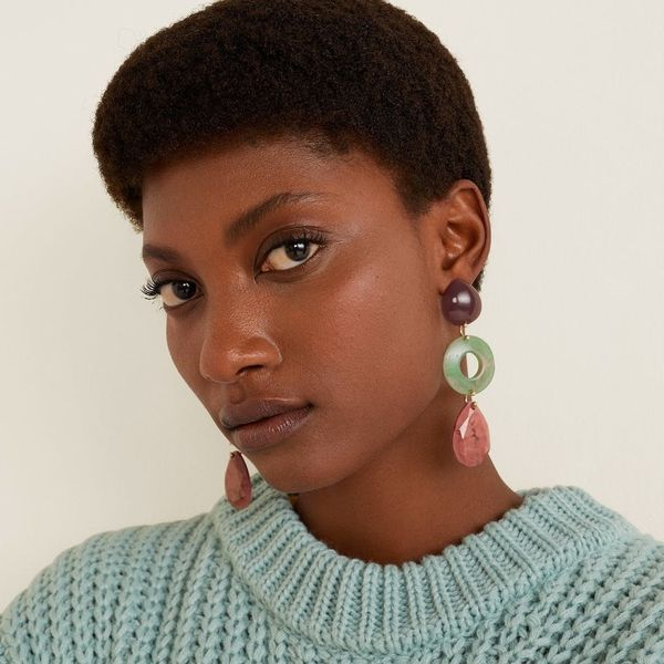 This Resin Earring Trend Will Be Your Go-To Spring Style Staple