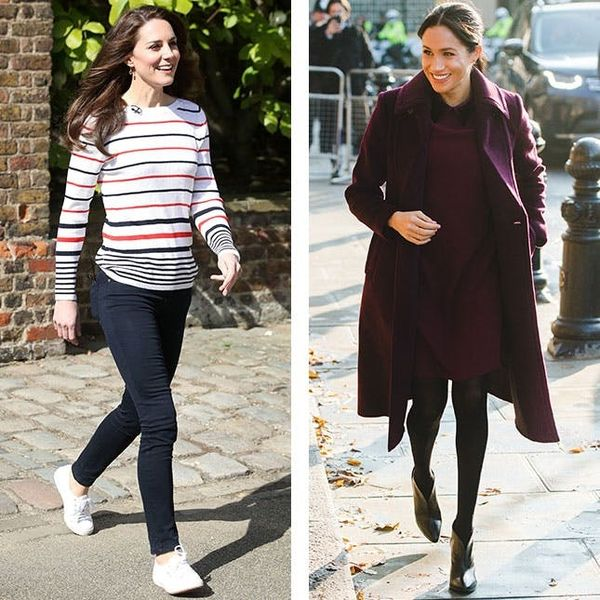 Meghan Markle and Kate Middleton Wear These Shoe Styles on Repeat