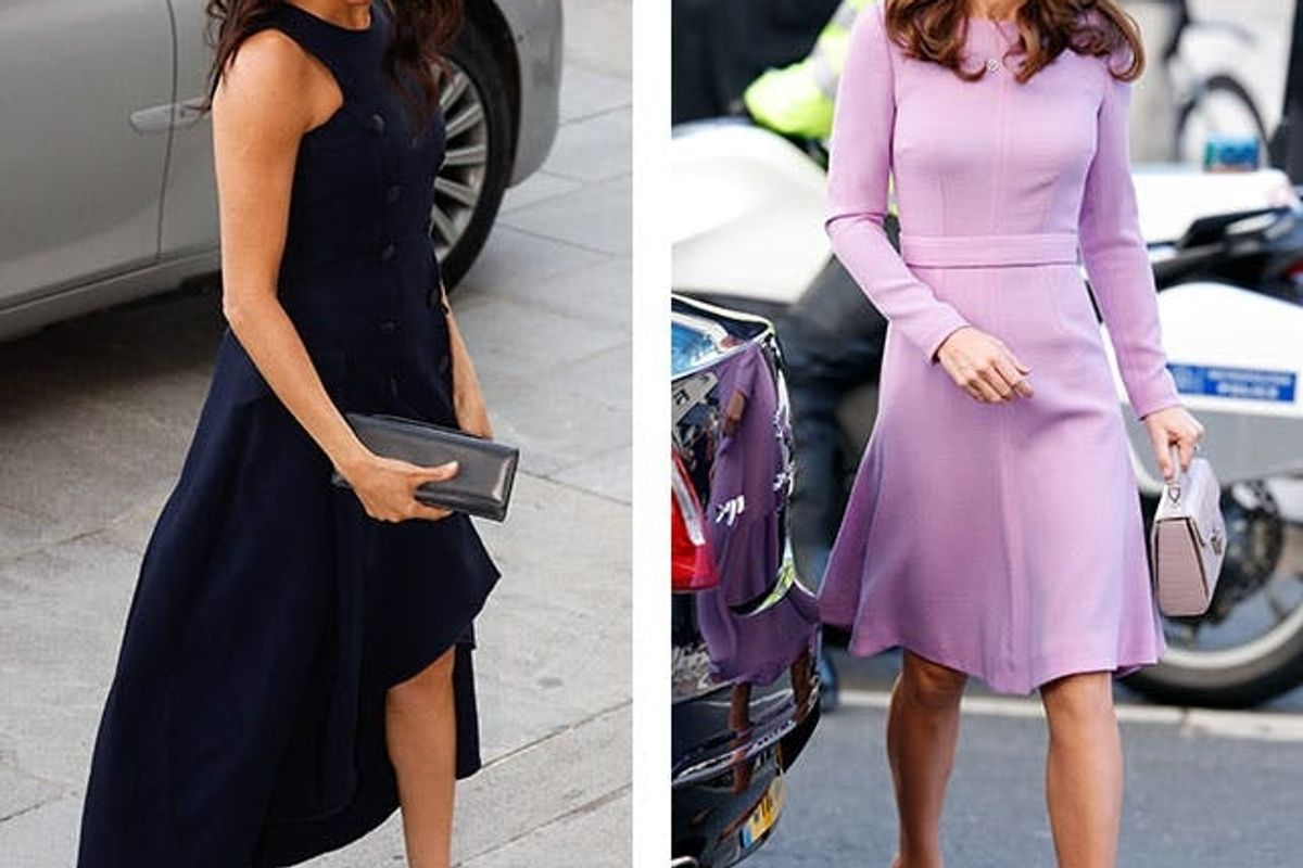 What to Wear to Any Wedding, According to Kate Middleton and Meghan Markle