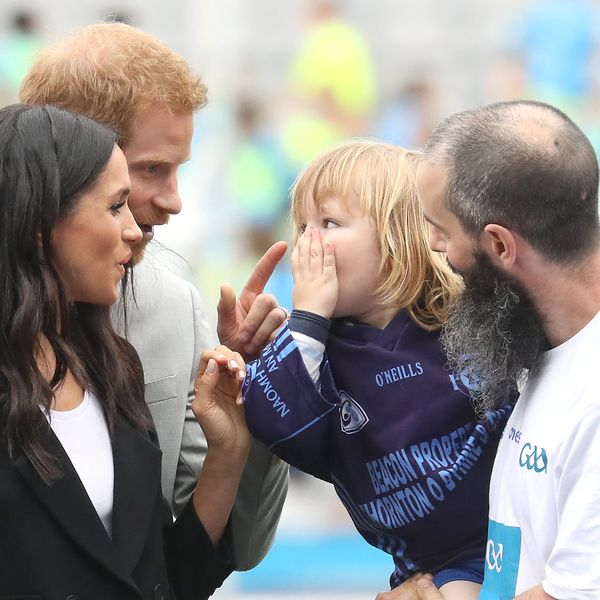 35 Photos of Prince Harry and Meghan Markle's Cutest Moments With Kids