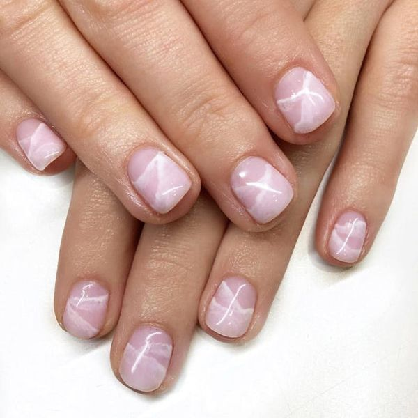 14 Himalayan Salt Manicure Ideas to Update Your Nude Nails
