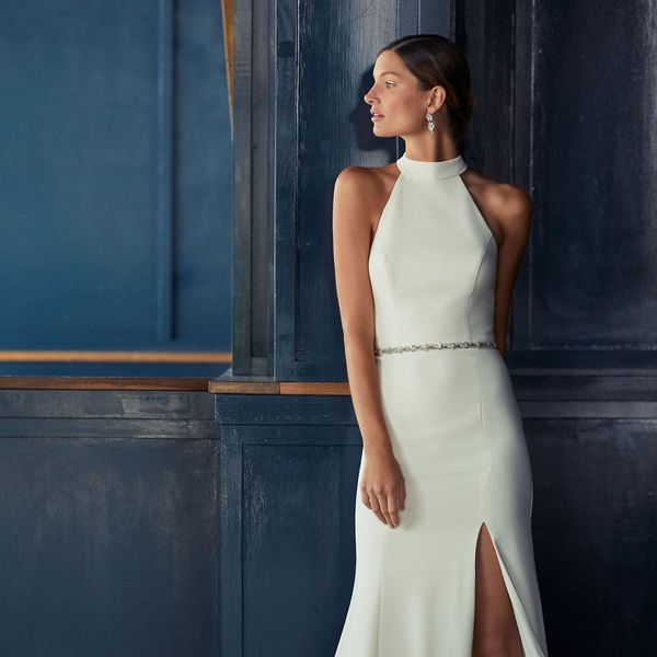 13 Budget-Friendly '90s Style Wedding Dresses for 2019 Brides