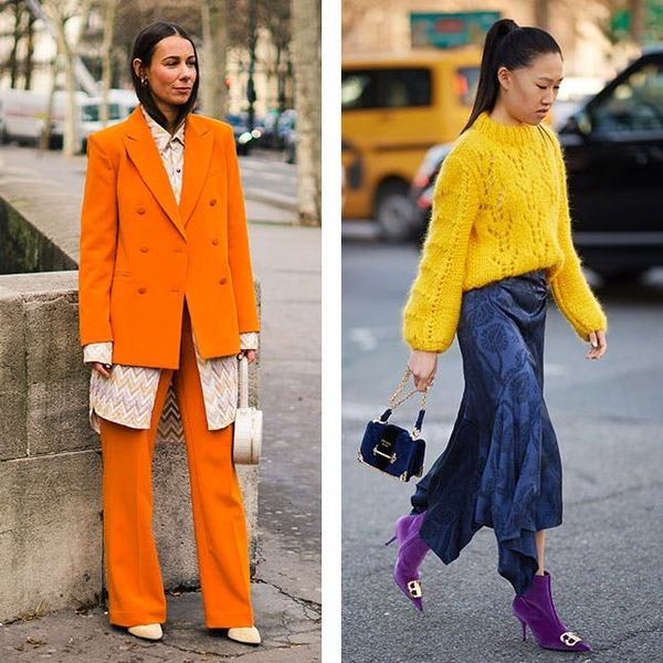 How to Pull Off Spring 2019's Boldest It-Colors