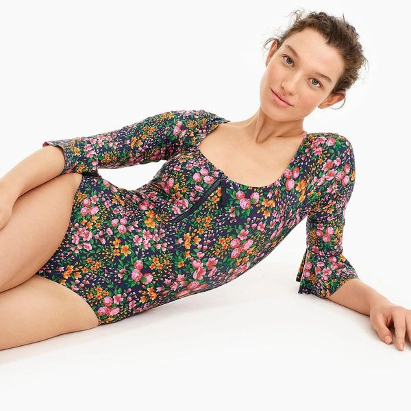 19 Long Sleeve Swimsuits for Spring 2019